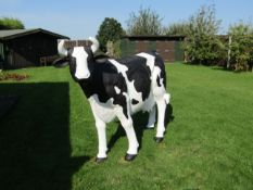 Pat the Cow. Life size model.
