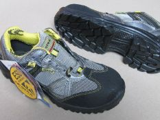 1 Pair SAFETY TRAINING SHOE. NON METAL TOE PROTECTOR. COFRA. UK SIZE 3
