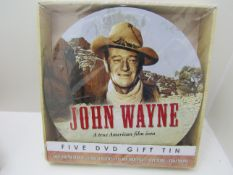 4 x John Wayne DVD sets.
