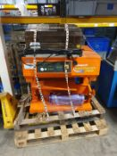 2 shrink wrapping machines