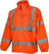 Vizwear Hi Vis fleece jackets x 50