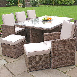 Liquidation of Brand New Rattan, Outdoor 6 Piece Dining Sets I Delivery available.