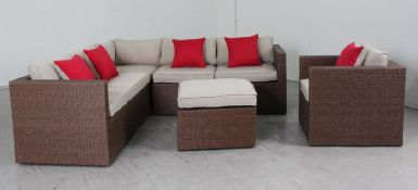 Brandon Corner Sofa, Armchair and coffee table