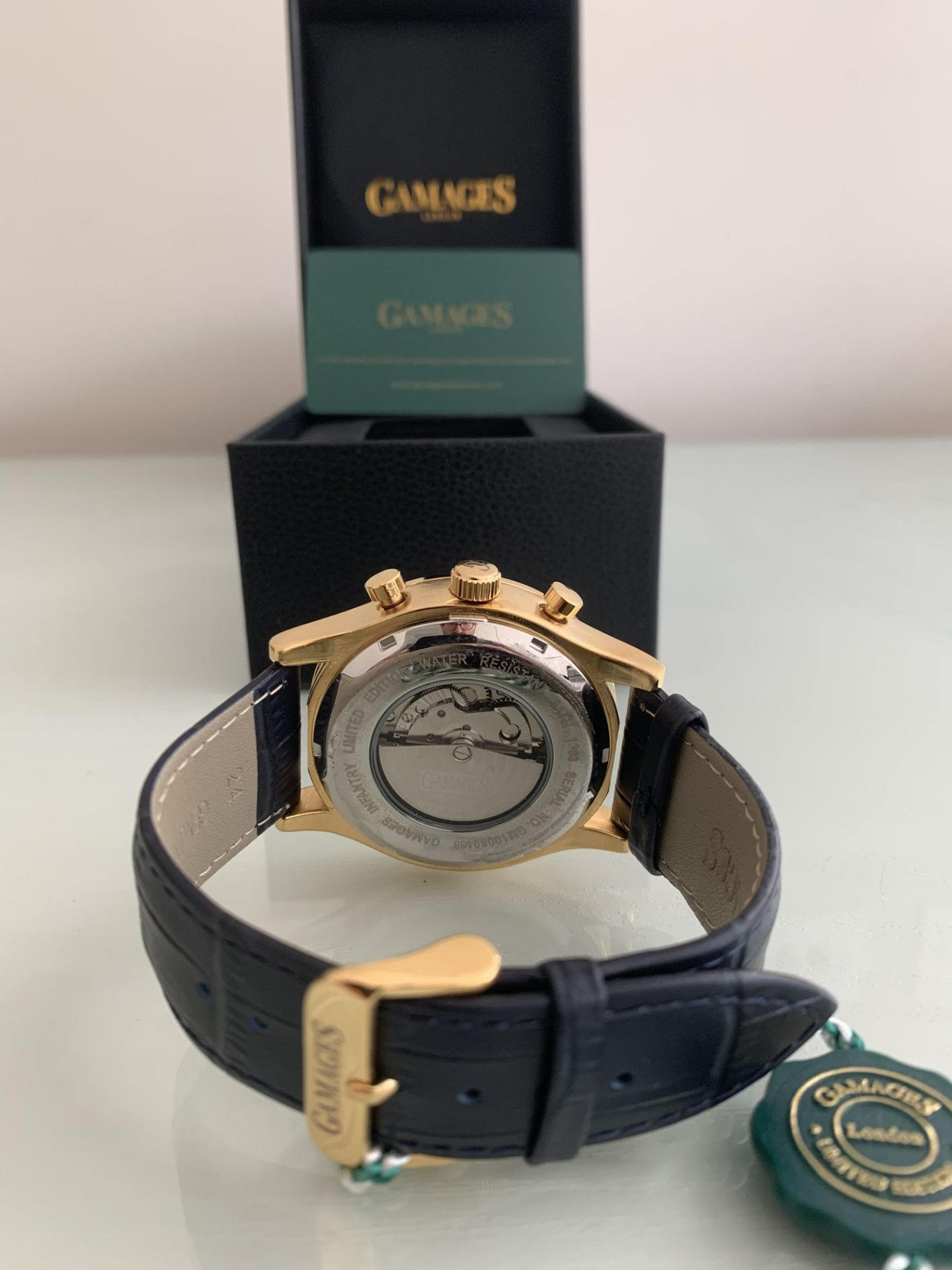 Limited Edition Hand Assembled Gamages Infantry Automatic Gold – 5 Year Warranty & Free Delivery - Image 3 of 5