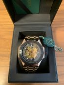 Limited Edition Hand Assembled Gamages Maverick Automatic Rose – 5 Year Warranty & Free Delivery