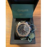 Ltd Ed Hand Assembled Gamages Intrinsic Rotator Automatic Two Tone – 5 Yr Warranty & Free Delivery