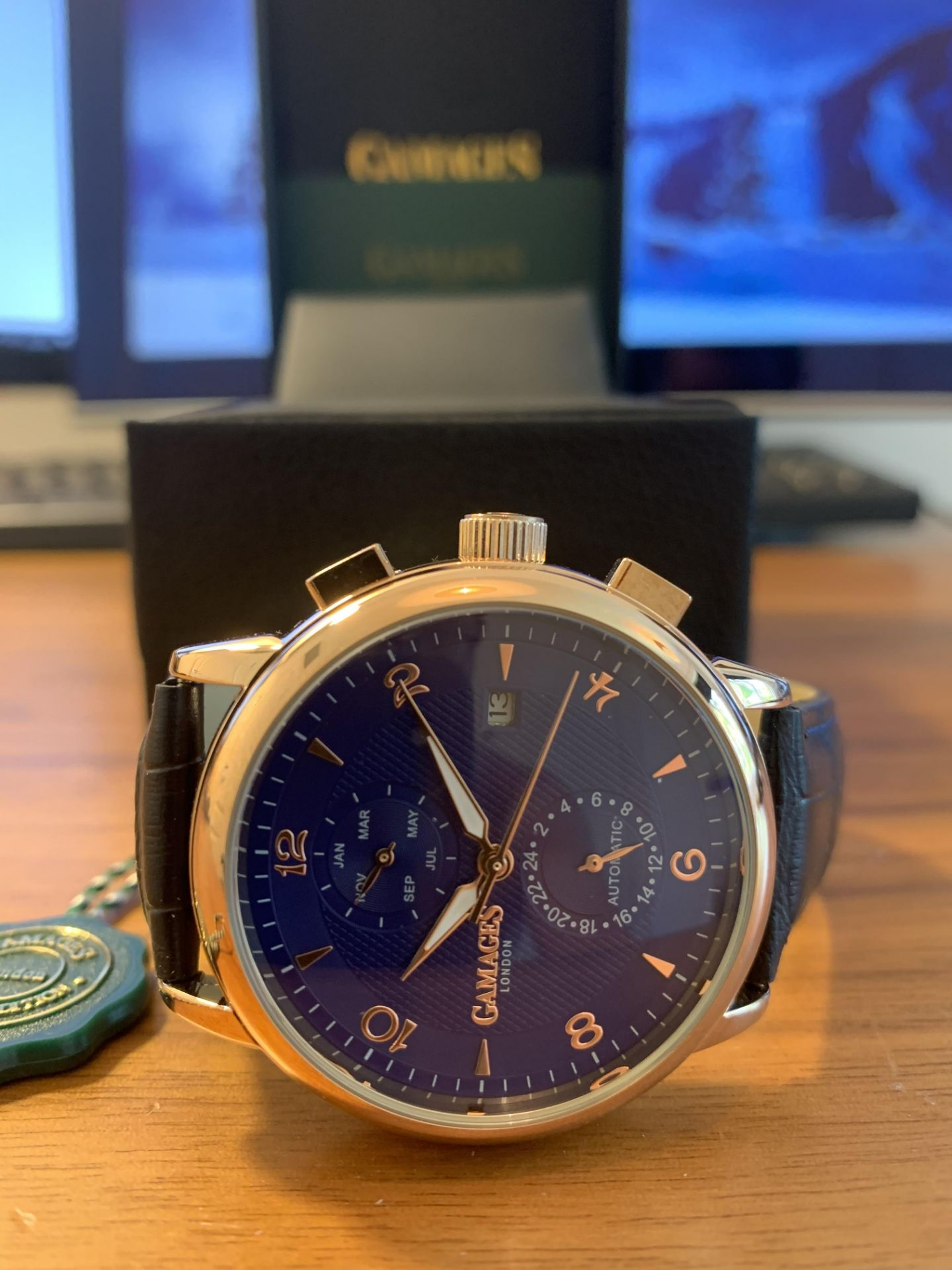 Limited Edition Hand Assembled Gamages Mystique Blue – 5 Year Warranty & Free Delivery - Image 3 of 4