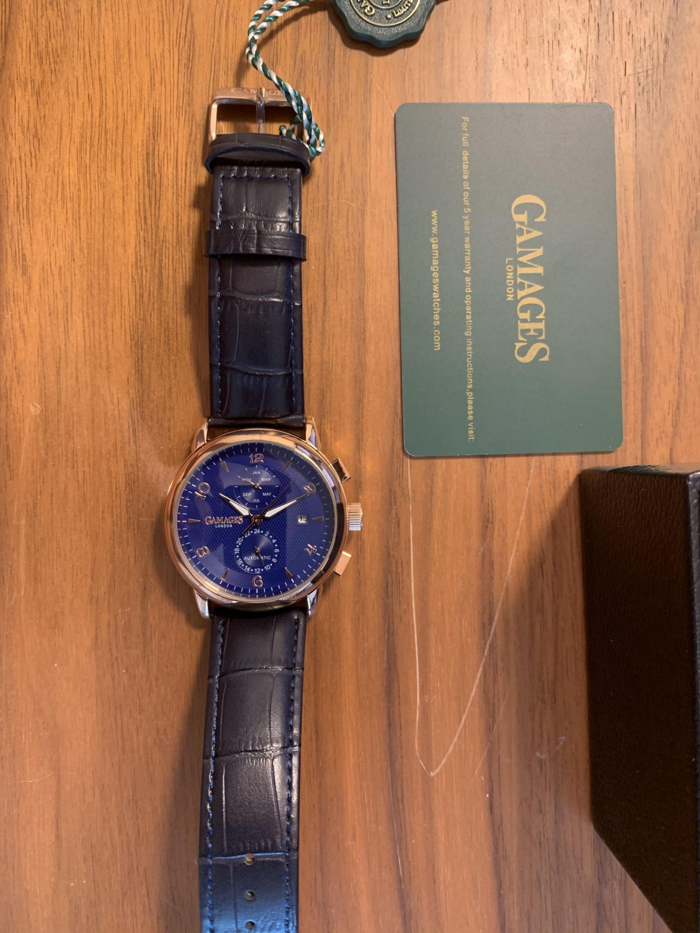 Limited Edition Hand Assembled Gamages Mystique Blue – 5 Year Warranty & Free Delivery - Image 4 of 5