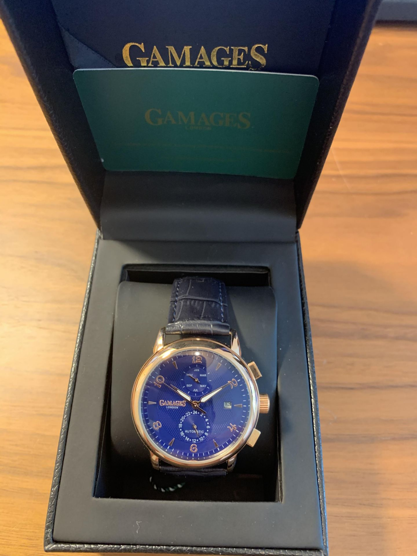 Limited Edition Hand Assembled Gamages Mystique Blue – 5 Year Warranty & Free Delivery