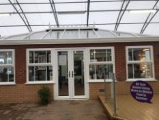 Ultraframe orangry roof, perfect for summer house, gym, garage, man cave