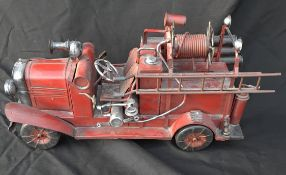 Vintage Display Model Fire Engine