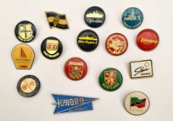Vintage 15 Assorted Badges