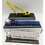 Vintage 3 x Eddie Stobart Toy Vehicles 1:76 Scale 2 Boxed