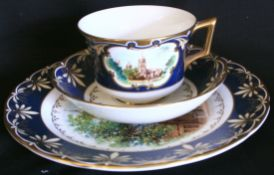 Vintage Wedgwood Genius Collection Trio Historic Town of Oxford