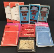 Vintage Assortment of 16 Ordnance Survey Maps