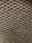 Pasha Beige 5M X 4M (16Ft3In X 13Ft) Polypropylene Loopcontract Feltback Carpet