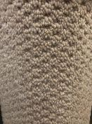 Sweethome Oyster4M X 4M (13Ftx13Ft) Polypropylene Looppile Hessian Back Carpet