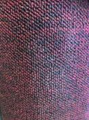 Majestic Red 4M X 3.5M (13Ft X 11Ft 6In ) Polypropylene Loopcontract Hessian Back Carpet