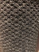 Sweet Home Anthracite 4M X 3.6M (13Ft X 11Ft 3In ) Polypropylene Loopcontract Feltback Carpet