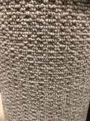 Seattle Beige 4.6M X 4M (15Ft 1In X 13Ft ) Polypropylene Loopcontract Feltback Carpet