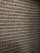 Grey Fleck Cambridge 7M X 4M (23Ft X 13Ft) Polypropylene Loopcontract Hessian Back Carpet