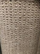 Seattle Beige 4M X 4.1M (13Ft 3In X 13Ft ) Polypropylene Loopcontract Feltback Carpet