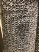 Seattle Grey 4M X2.7M (13Ft X 9Ft ) Polypropylene Loopcontract Feltback Carpet