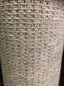 Seattle Beige 4M X 4M 13Ft X13Ft Loopcontract Polypropylene Feltback Carpet