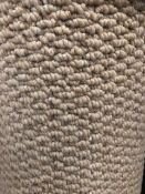 Seattle Taupe 5M X 4M (16Ft3In X 13Ft ) Polypropylene Loop Pile Feltback Carpet