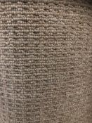 Seattle Beige 4M X 4M (13Ft X13Ft) Polypropylene Feltback Loop Contract Carpet