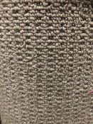 Seattle Grey 7M X 4M (22Ft9In X 13Ft ) Polypropylene Loopcontract Feltback Carpet
