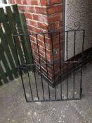 1 steel garden gate 3ft by3ft
