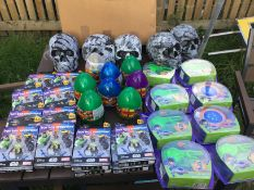 Skulls Halloween and eggs joblot