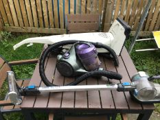 3 vacuum cleaners used
