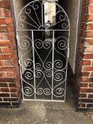 6ft tail steel garden gate