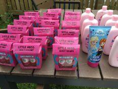 Girls nail polish baby lotion ect job lot