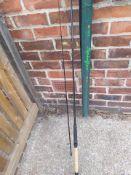 Spin flex fishing rod