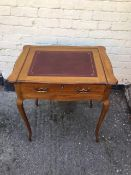 Antique Arts & Crafts period Ladies Writing Desk