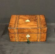 Antique inlaid Jewellery Box.