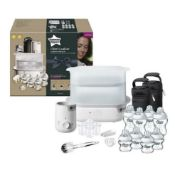 Tommee Tippee Closer To Nature Complete Baby, Child Feeding Set White Rrp £130