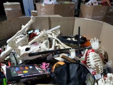 Full Trader Pallet of Halloween Items, Surplus and Returns RRP Over £2000