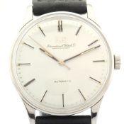 IWC / 1962 / Caliber C 853 - Gentlmen's Steel Wrist Watch