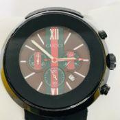 Gucci - Gentlmen's Steel Wrist Watch