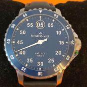 Meistersinger / Salthora meta X 43 mm - Gentlmen's Steel Wrist Watch