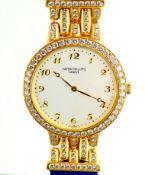 Patek Philippe / 18K Calatrava Diamond - Lady's Yellow gold Wrist Watch