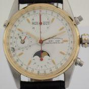 Eberhard & Co. / 32012/A - Gentlmen's Steel Wrist Watch