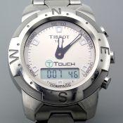 Tissot / T Touch - Gentlmen's Steel Wrist Watch