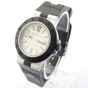 Bvlgari / AL38A - Gentlmen's Aluminium Wrist Watch