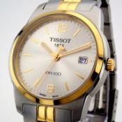Tissot / Pr100 - Gentlmen's Gold/Steel Wrist Watch
