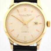 IWC / CALIBER C 8531 - Gentlmen's Yellow gold Wrist Watch